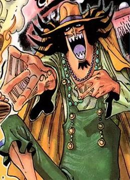 Vander Decken IX en el manga