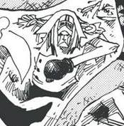 Glove in the manga