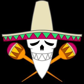 Jolly Roger des pirates Amigo