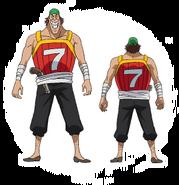 Captain Seven Concept Art