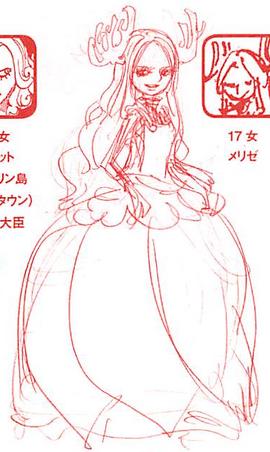 Charlotte Melise in the manga