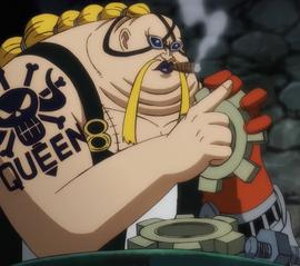 Queen no anime