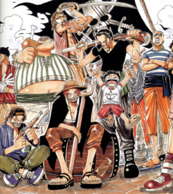 Luffy e os Piratas do Ruivo.png
