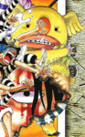 Minokoala Manga Color Scheme