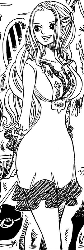 Nefertari Vivi depois do timeskip no mangá