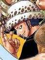 Law's Pre Timeskip Manga Color Scheme