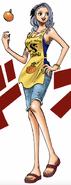 Nojiko Post-Timeskip in Digitally Colored Manga