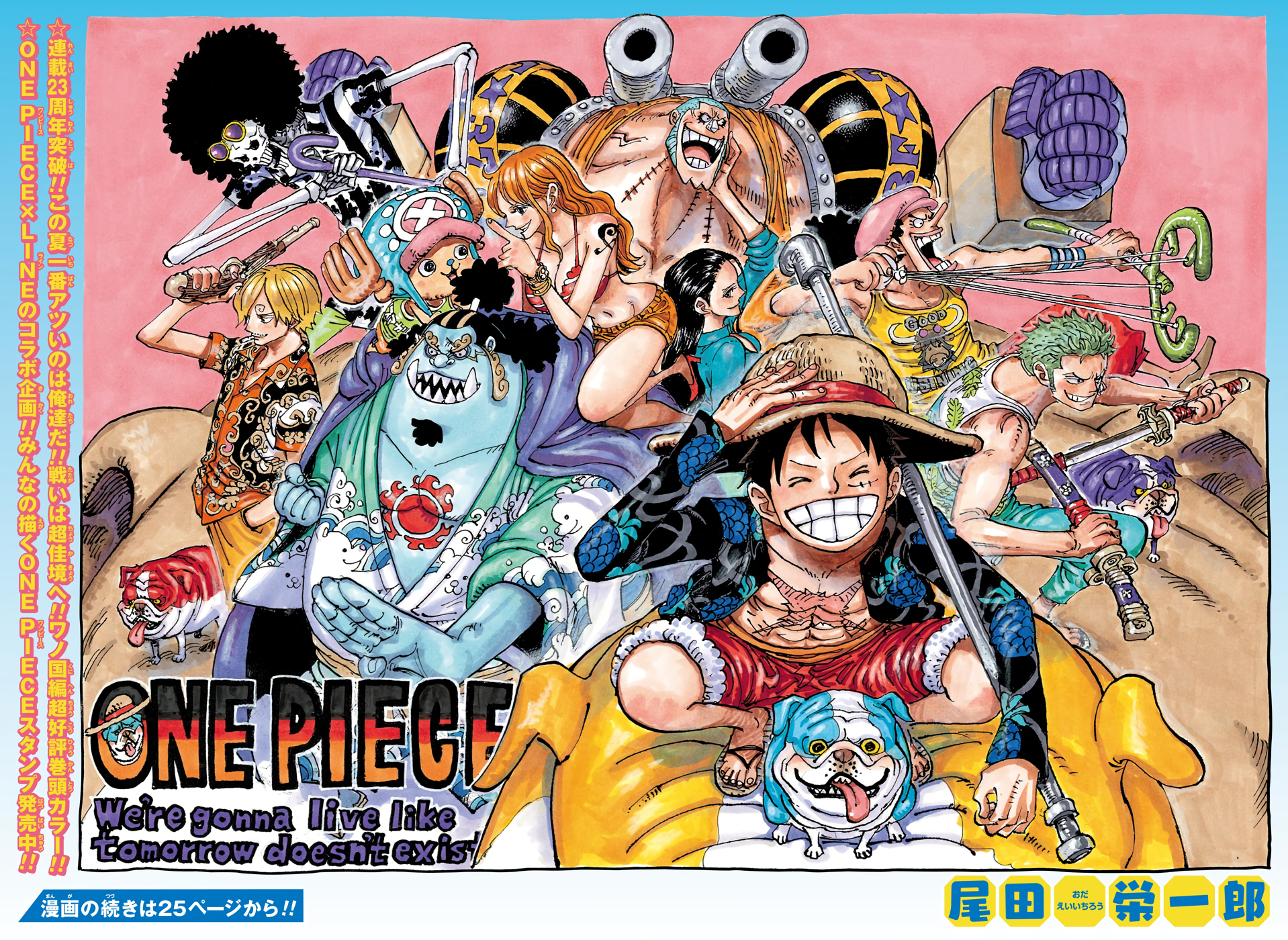 Chapter 987 One Piece Wiki Fandom