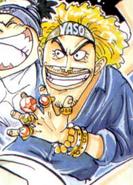 Yasopp Romance Dawn Manga Color Scheme