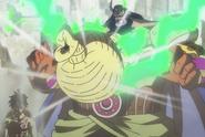 Rufy fa esplodere Babanuki