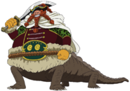 Brownbeard Anime Concept Art
