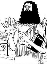 Gode in the manga