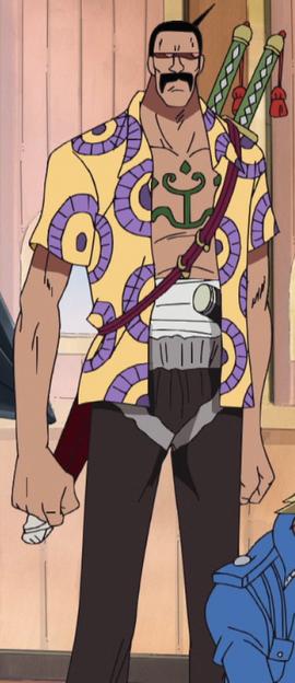 Peeply Lulu before the timeskip in the anime