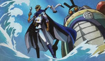 Sora, o Guerreiro do Mar