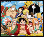 Straw Hat Pirates na de tijdsprong