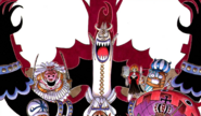 Gecko Moria Thriller Bark Saga Manga Color Scheme