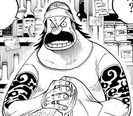 Terry in the manga