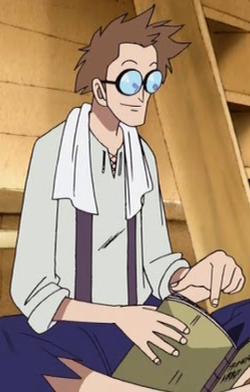 Alan en el anime