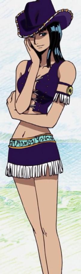 Nico Robin antes do timeskip no anime