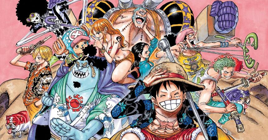 Salpa per il mondo di One Piece
