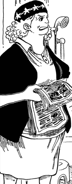 Ipponume in the manga