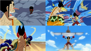 Monkey D. Luffy kontra Foxy