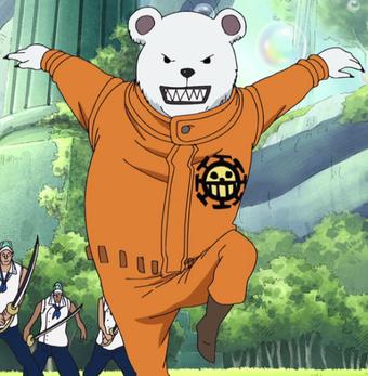 "Bepo – Gấu ""Hoa tiêu"" của băng Hải Tặc Heart"