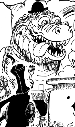 Noble Croc in the manga