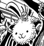 Rabbitman in the manga
