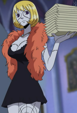 Victoria Cindry in the anime