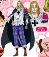 Hawkins Wano Country Arc Anime Concept Art