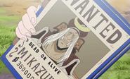 Mikazuki's Wanted Poster