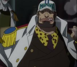 Yamakaji in the anime