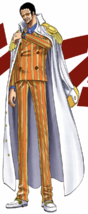 Borsalino in the Digitally Colored Manga