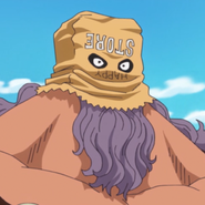 Jesus Burgess' Mr. Store Mask