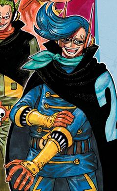 Vinsmoke Niji in the manga