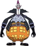 Gecko Moria Anime Concept Art