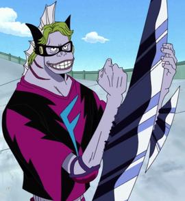 Girarin in the anime