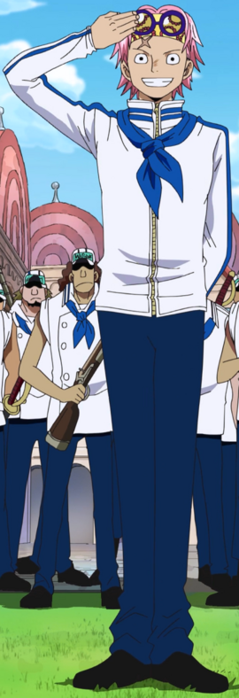 Koby antes do timeskip no anime