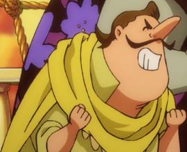 Мун Айзек-младший в аниме
