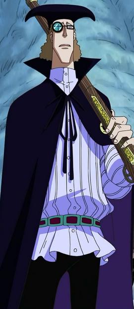 Van Augur in the anime