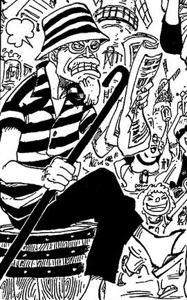 Woop Slap after the timeskip in the manga