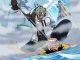 Monkey D. Luffy/Hubungan/Tiga Kekuatan Besar