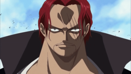 Shanks in the anime