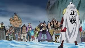 Командиры Белоуса и Крокодайл против Сакадзуки