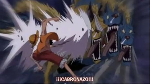 Monkey D. Luffy vs. Cerbero
