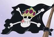 Bliking Pirates' Jolly Roger