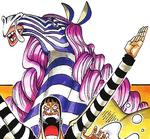Minozebra Manga Color Scheme