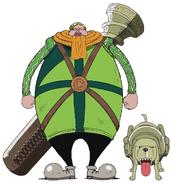 Mr. 4 Anime Concept Art