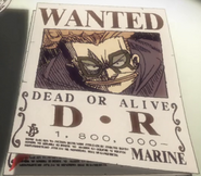 D.R.'s Wanted Poster From Movie 9